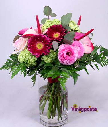 Virágposta - Hello, Anya! - ajándékcsokor