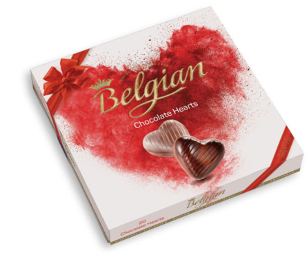 Ferrero - Belgian Chocolate Hearts