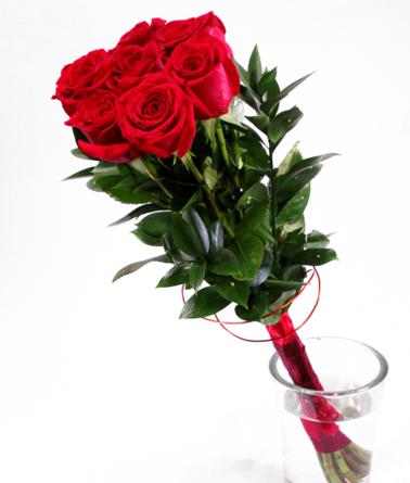 Virágposta - Varázspálca vörös rózsákkal