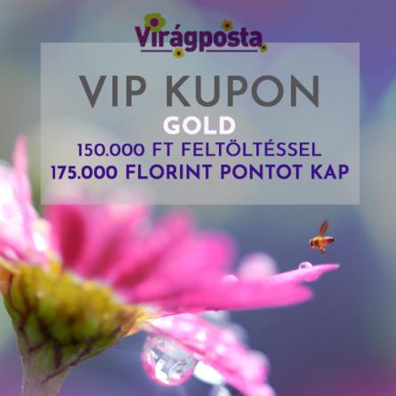 Virágposta - VIP KUPON - Gold