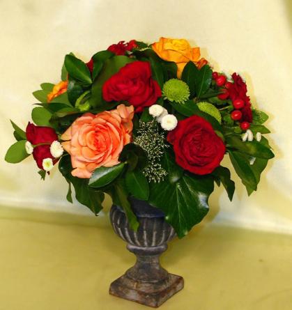 Virágposta - Klasszikus rózsák ónvázában - most kedvezménnyel
