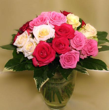 Virágposta - Rózsás szín-játék