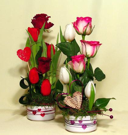 Virágposta - Tulipánok és rózsák