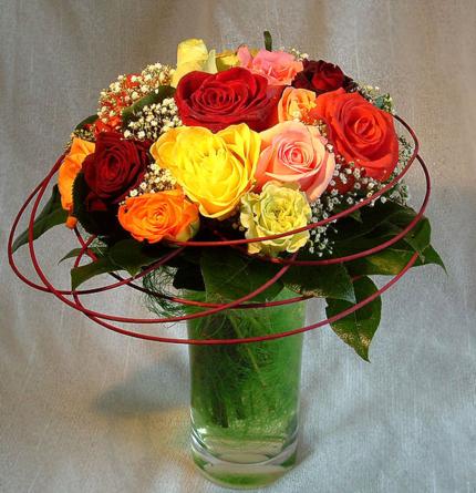 Virágposta - Virágposta - A rózsák színe - rózsacsokor