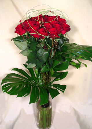 Virágposta - Szeretni kell!!! - Vörös rózsacsokor