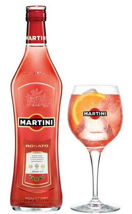 Virágposta - Martini Rosato 0,7l-es