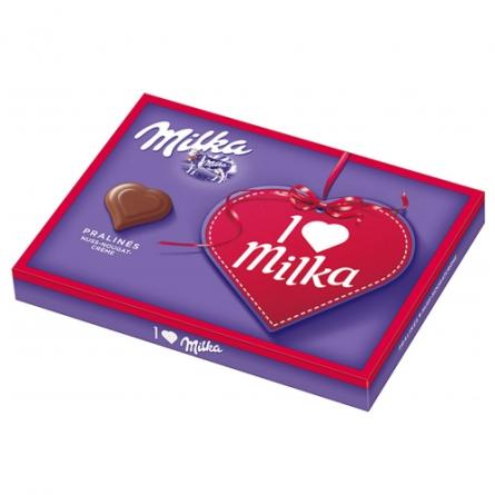 Virágposta - I Love Milka desszert