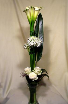 Virágposta - Rózsák és kálák