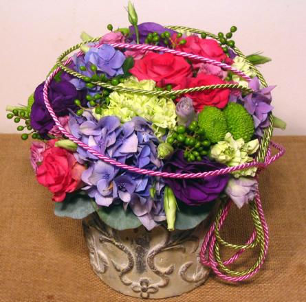 Virágposta - Reneszánsz romantika - virágtál