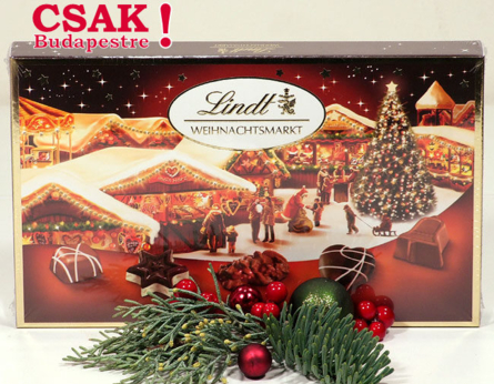 LINDT - Lindt Weinachtsmarkt bonbon