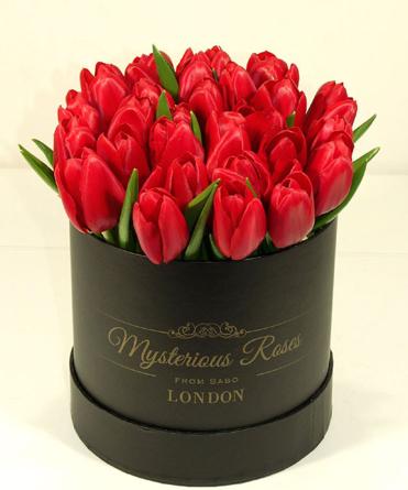 Ferrero - Mysterious Tulips! - piros tulipános box